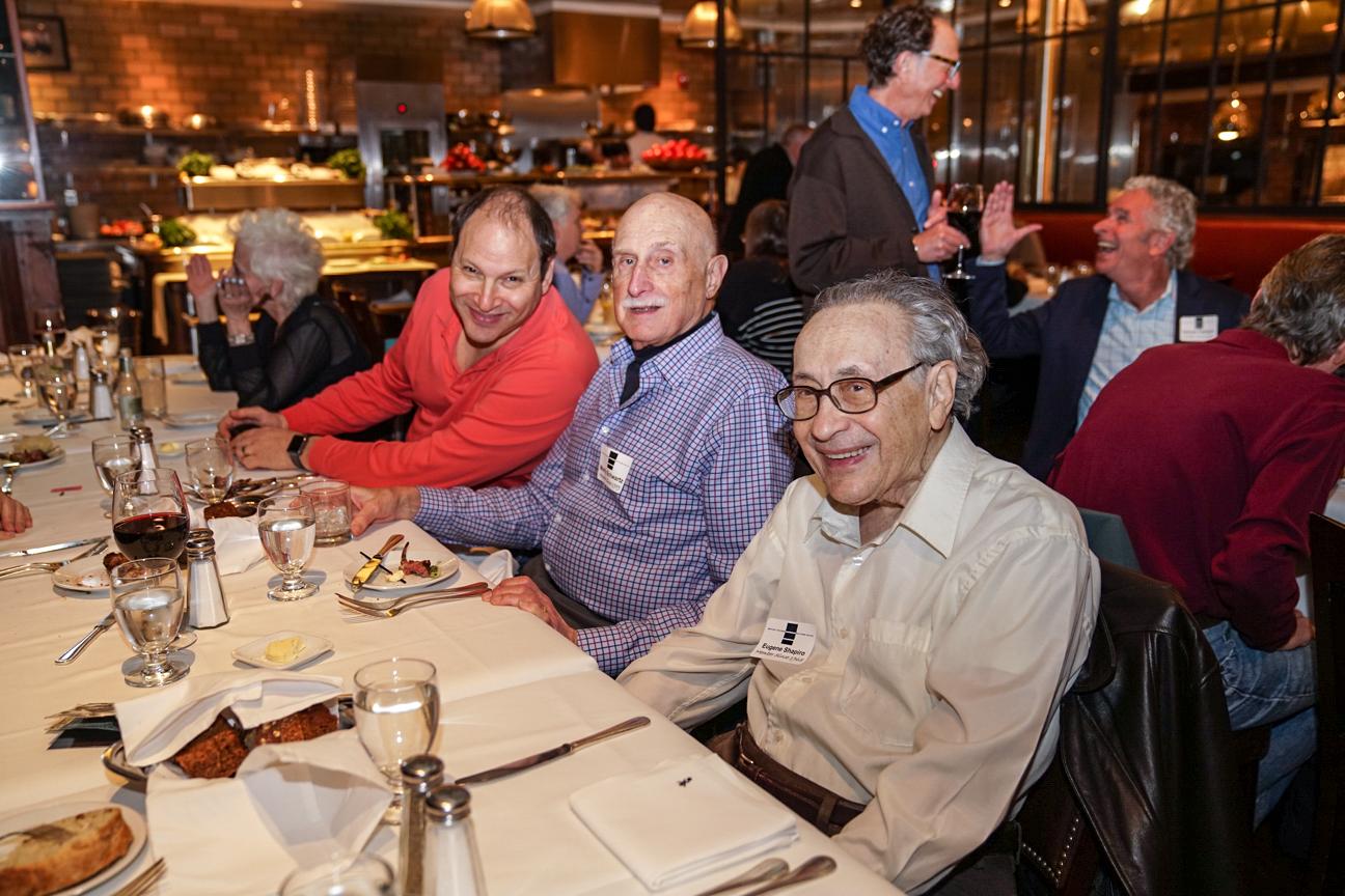 David Friedman, Morty Schwartz, Eugene Shapiro