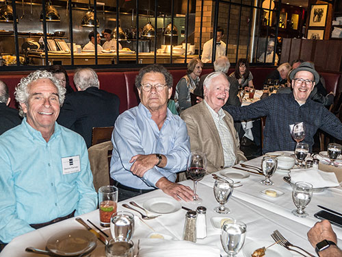 East Coast Retirees Luncheon        May 9, 2016 - Gallagher's Steak House, Manhattan 			Photos by John Clifford