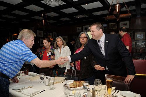 East Coast Retirees Luncheon        May 12, 2014 - Gallagher's Steak House, Manhattan Photos by Sarah Shatz