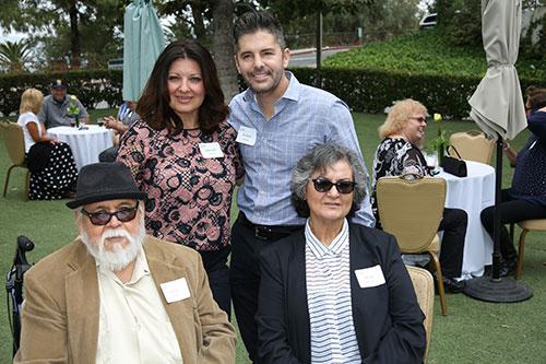 Standing: Marisela Handley, Richard Handley; Sitting: Victor Martinez, Maria Martinez