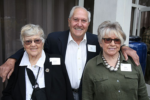 Janet Devaney, Phil Patchen, Ann Spaulding