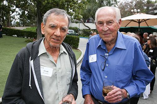 Chuck Montgomery, Ed Abroms, Sr.