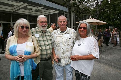 Gail Burch, Lee Burch, Nils Jensen, Angie Jensen