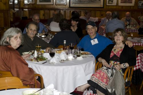 East Coast Retirees LuncheonMay 9, 2011 - Gallagher's Steak House, ManhattanPhotos by John Clifford