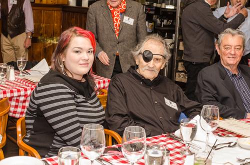 East Coast Retirees Luncheon        May 13, 2013 - Gallagher's Steak House, Manhattan Photos by John Clifford