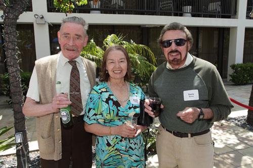 Jorge Vdovitchenko, Berta Laguna, Terry Brown