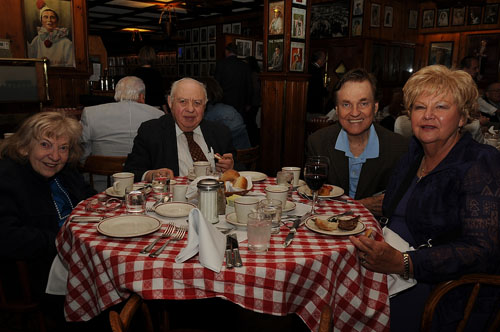 East Coast Retirees LuncheonMay 12, 2009 - Gallagher's Steak House, ManhattanPhotos by Sarah Shatz