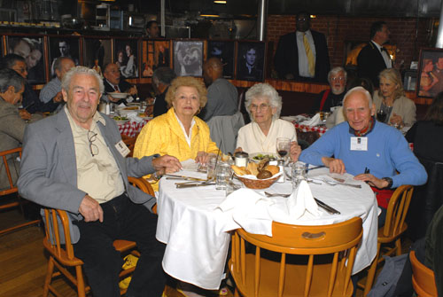 East Coast Retirees LuncheonMay 10, 2010 - Gallagher's Steak House, ManhattanPhotos by John Clifford