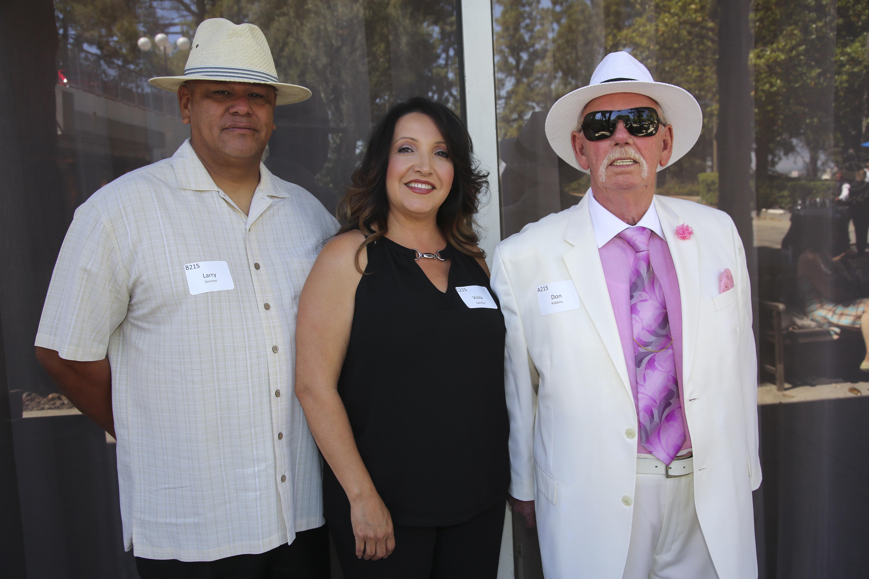 Larry Sanchez, Viola Sanchez, Don Robbins