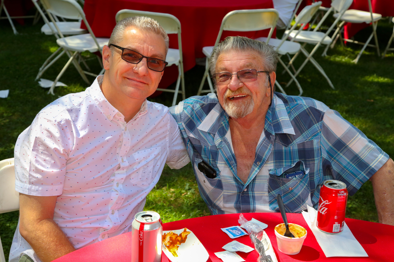 Scott Berlin, left, and Leonard Geschke