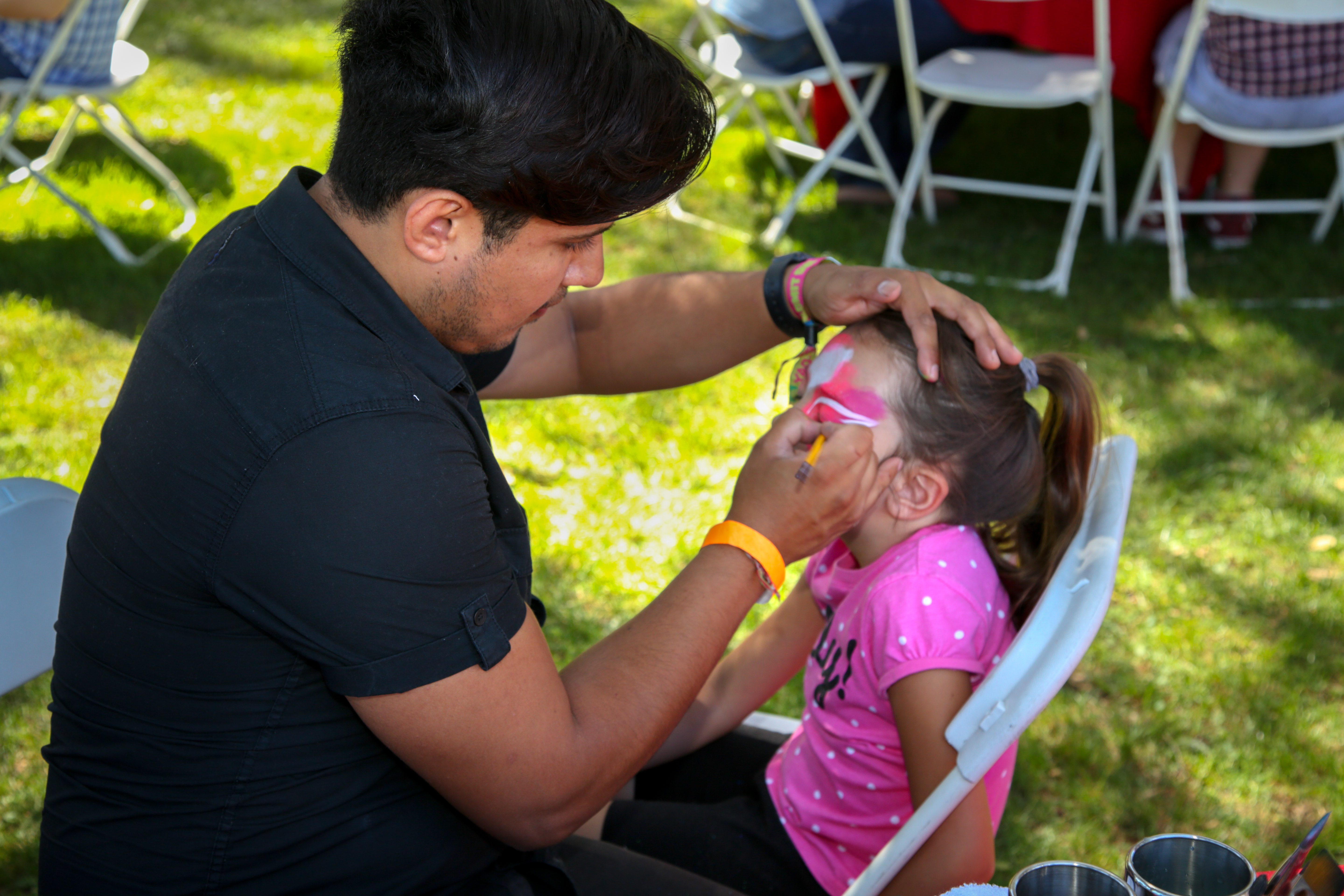 Face painting for the kids!