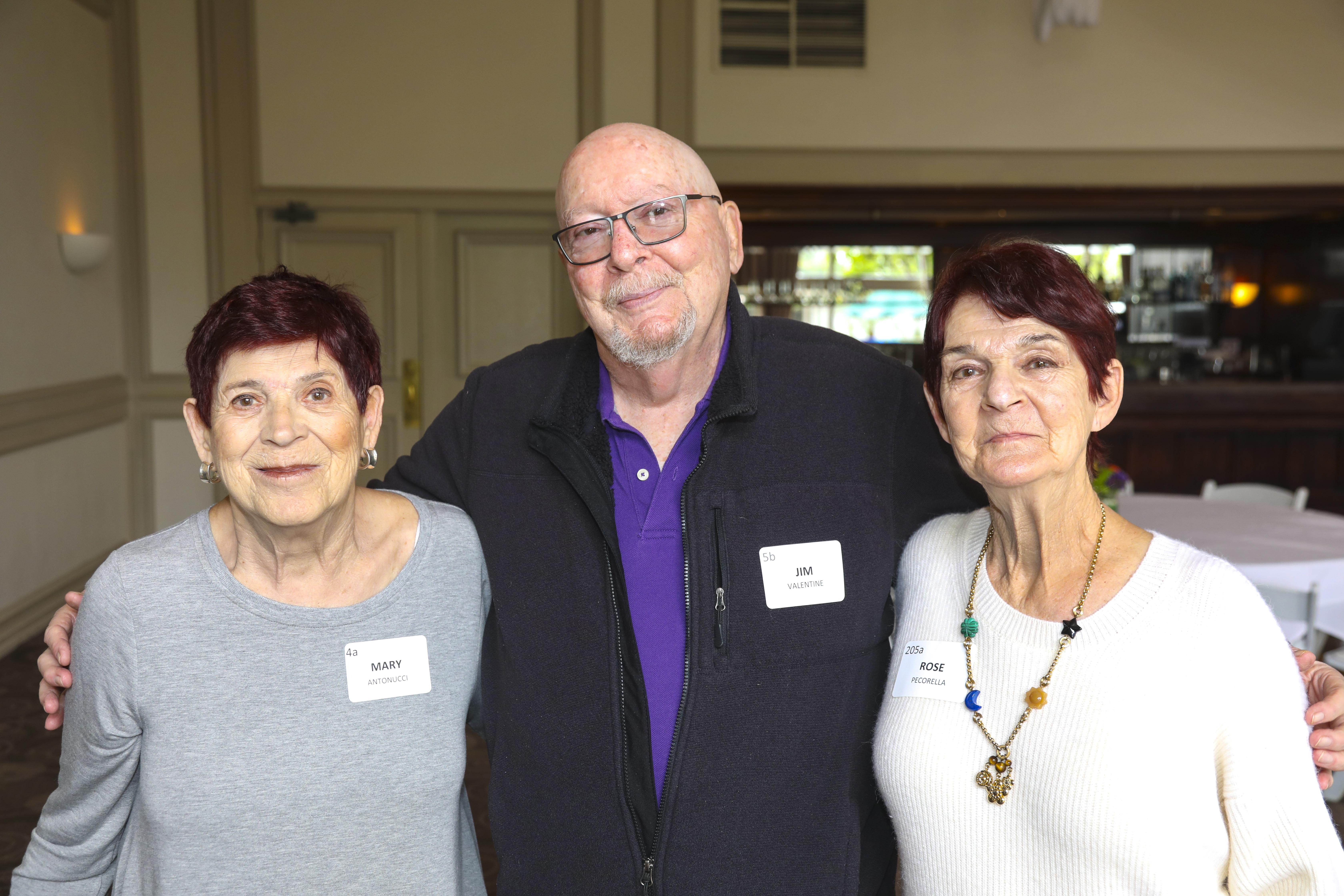 Mary Antonucci, Jim Valentine, Rose Pecorella