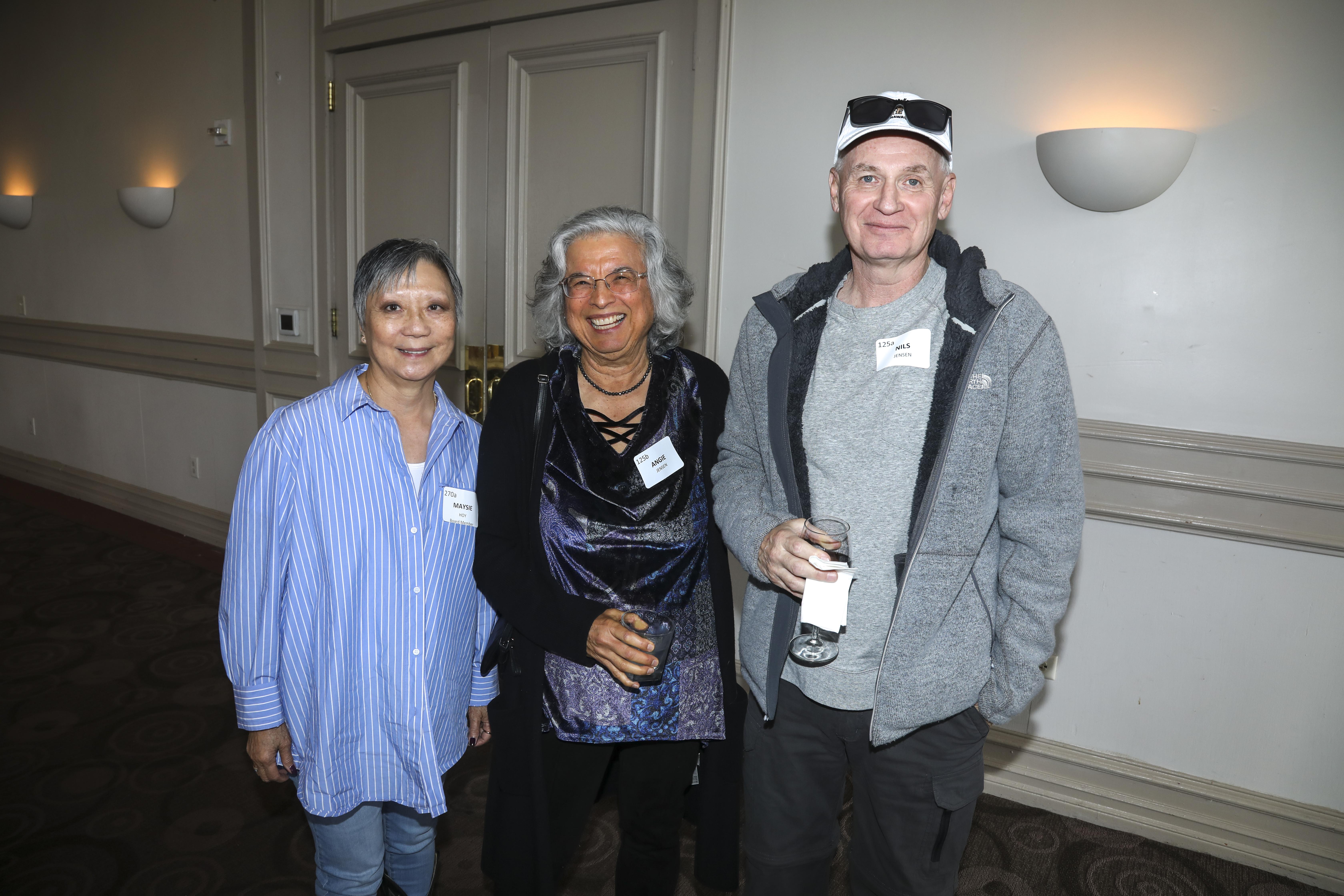 Maysie Hoy, Angie Jensen, Nils Jensen