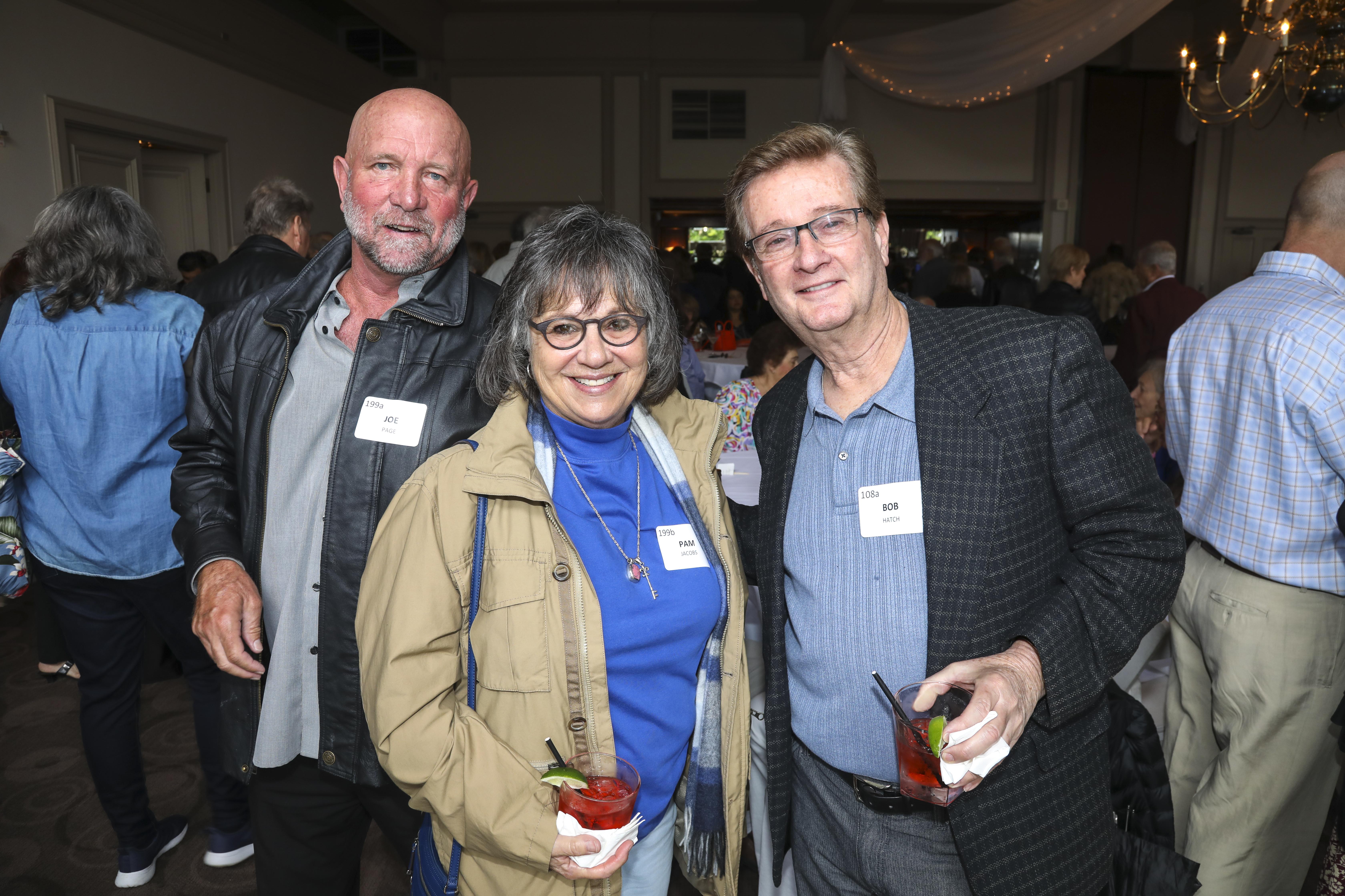 Joe Page, Pam Jacobs, Bob Hatch