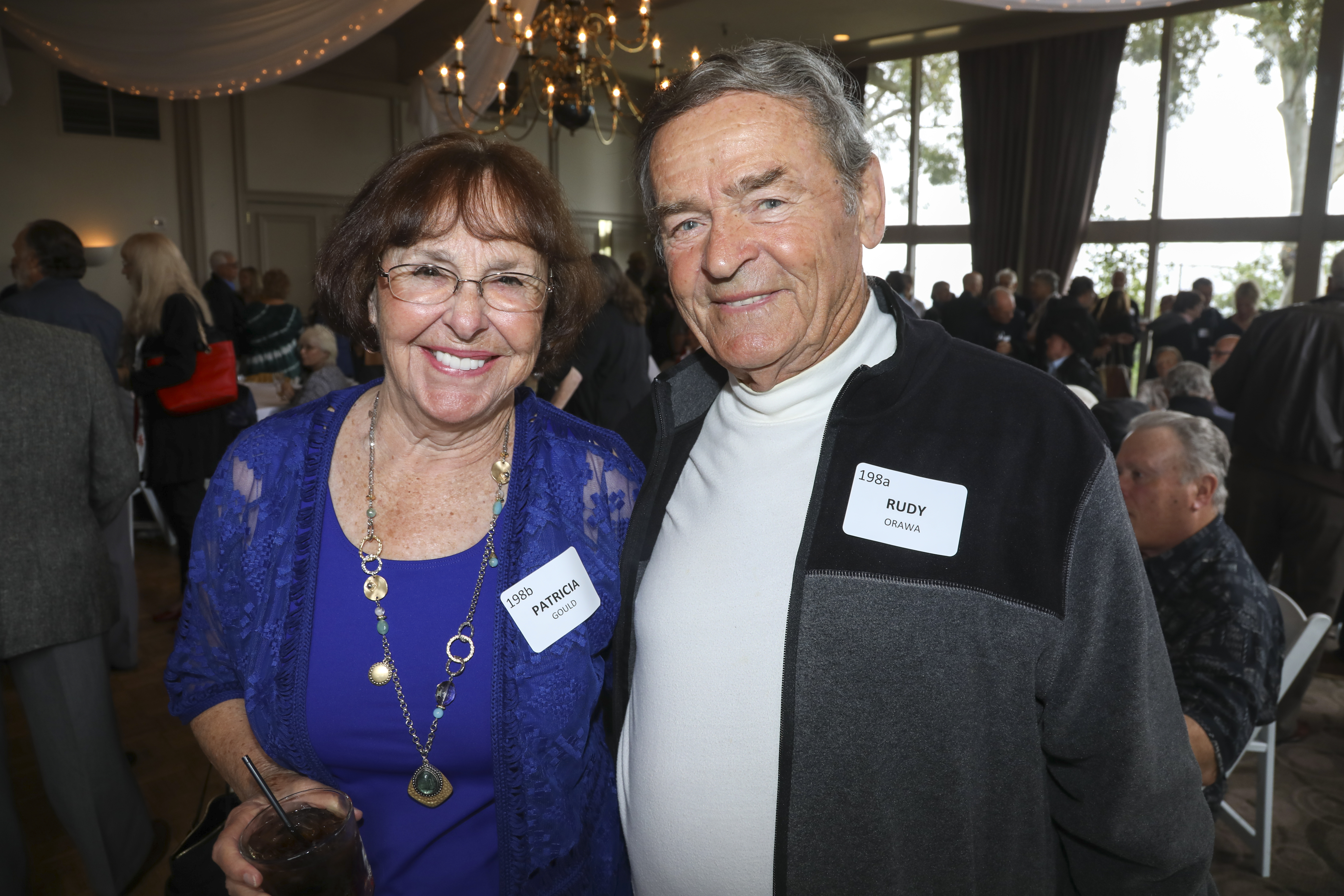 Patricia Gould, Rudy Orawa
