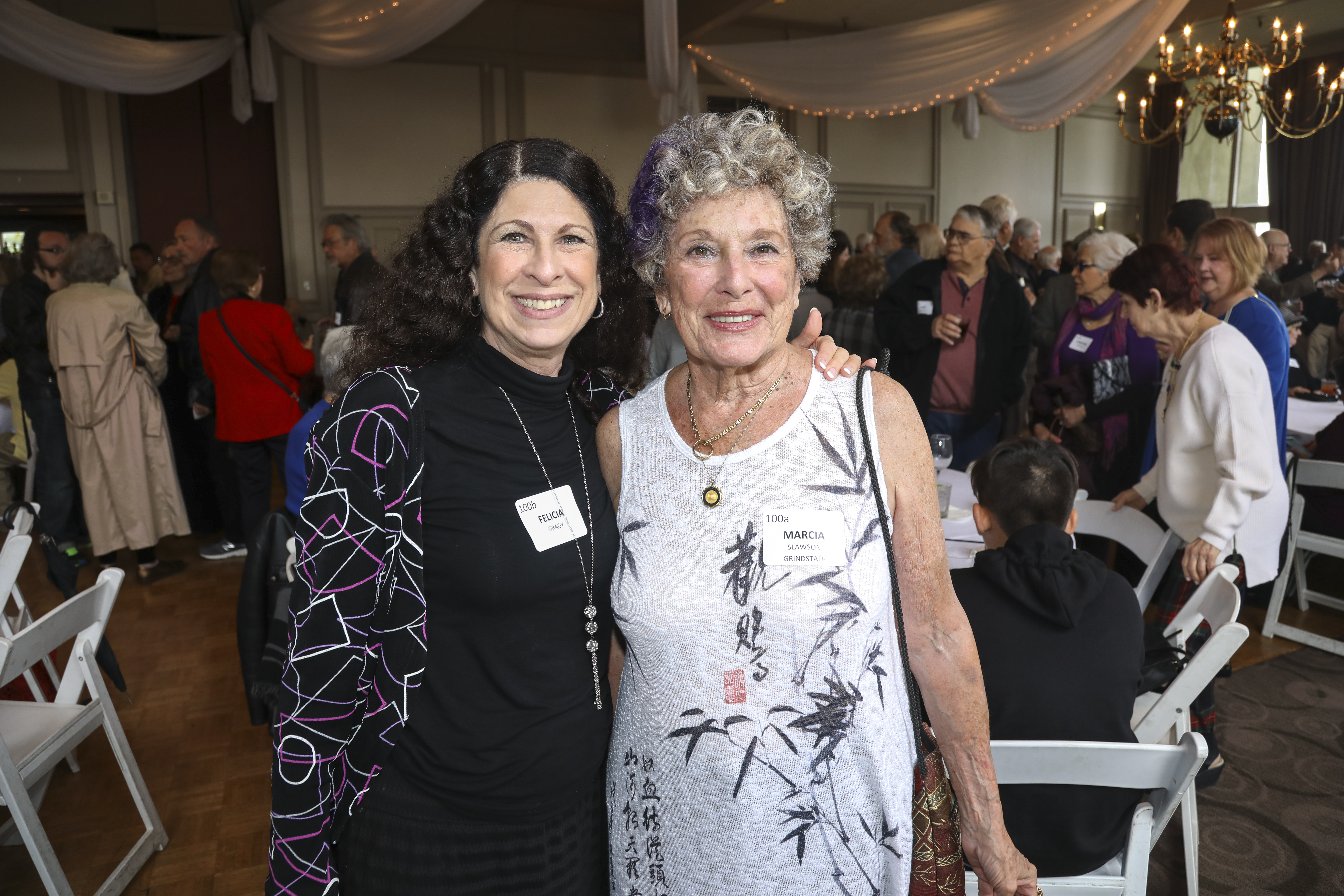 Felicia Grady, Marcia Slawson Grindstaff