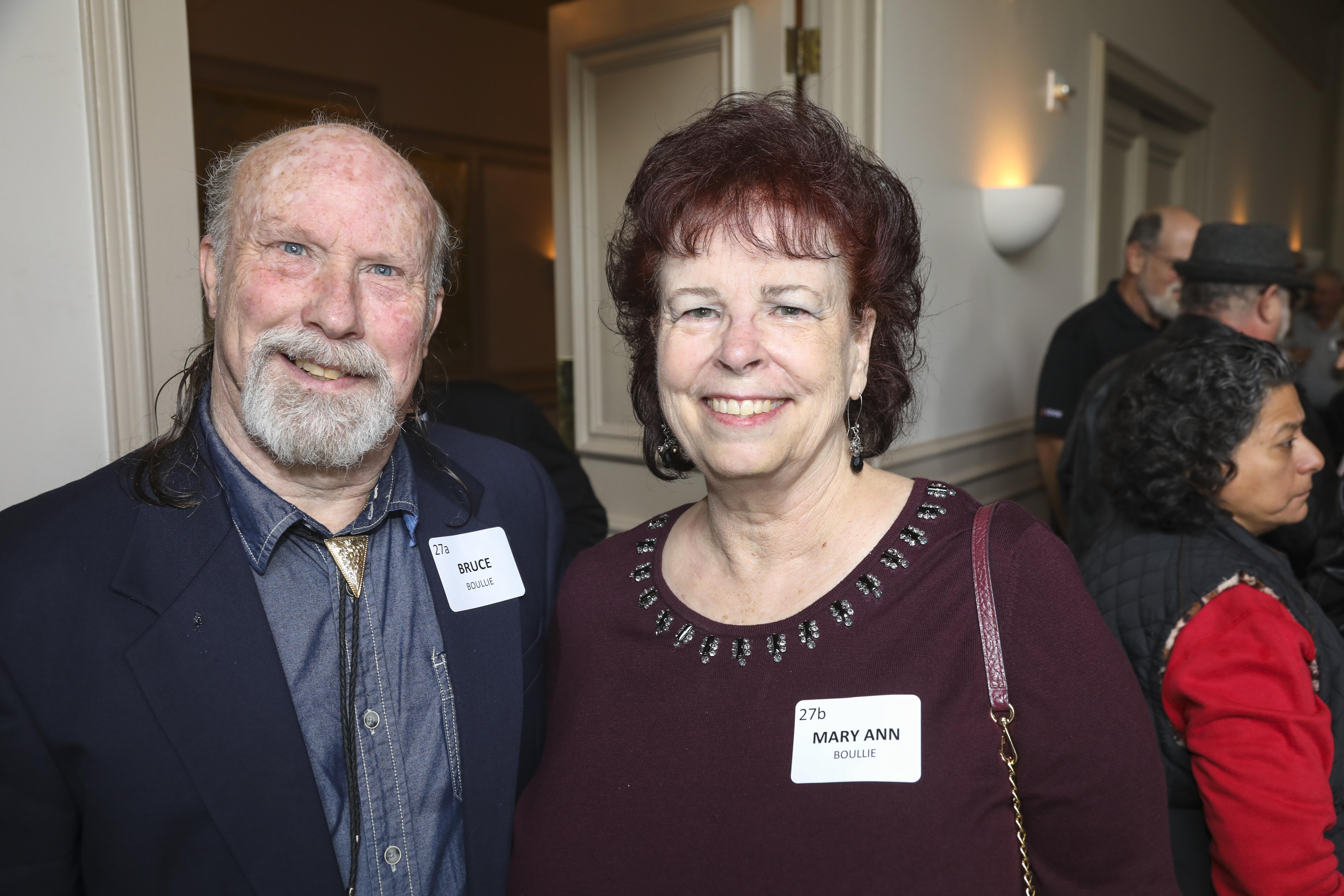Bruce Boullie, Mary Ann Boullie