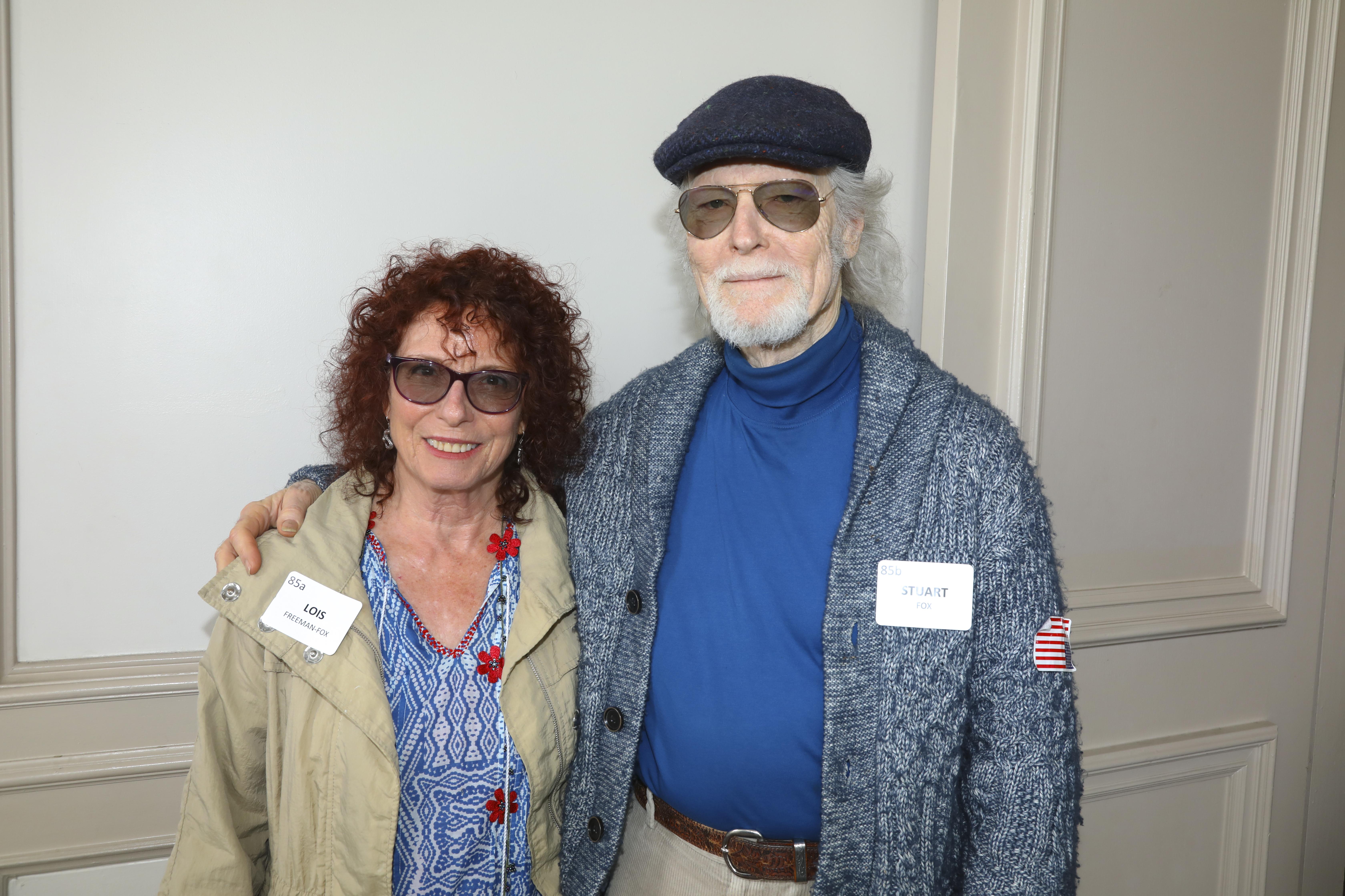 Lois Freeman-Fox, Stuart Fox