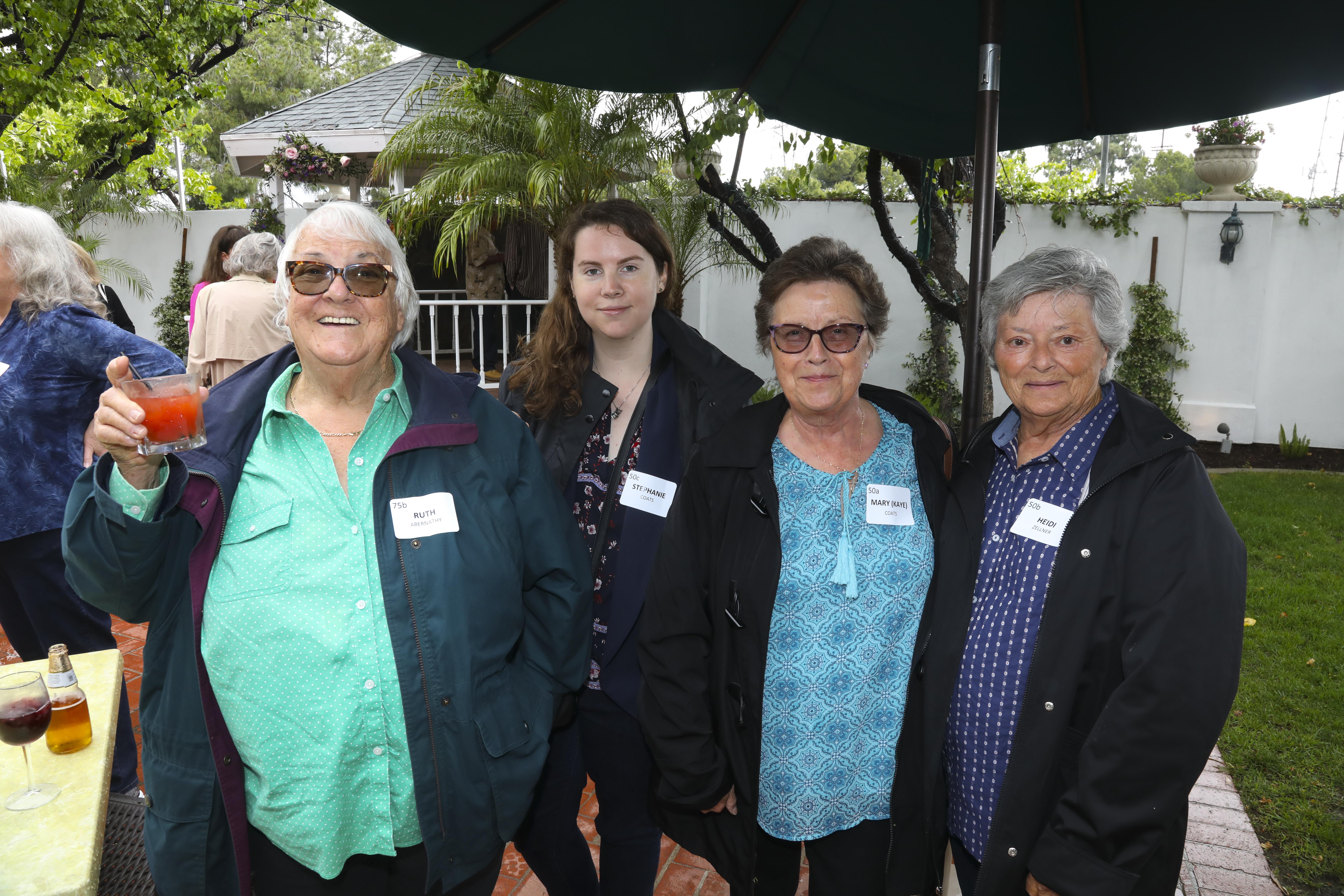 Ruth Abernathy, Stephanie Coats, Mary(Kaye) Coats, Heidi Zellner