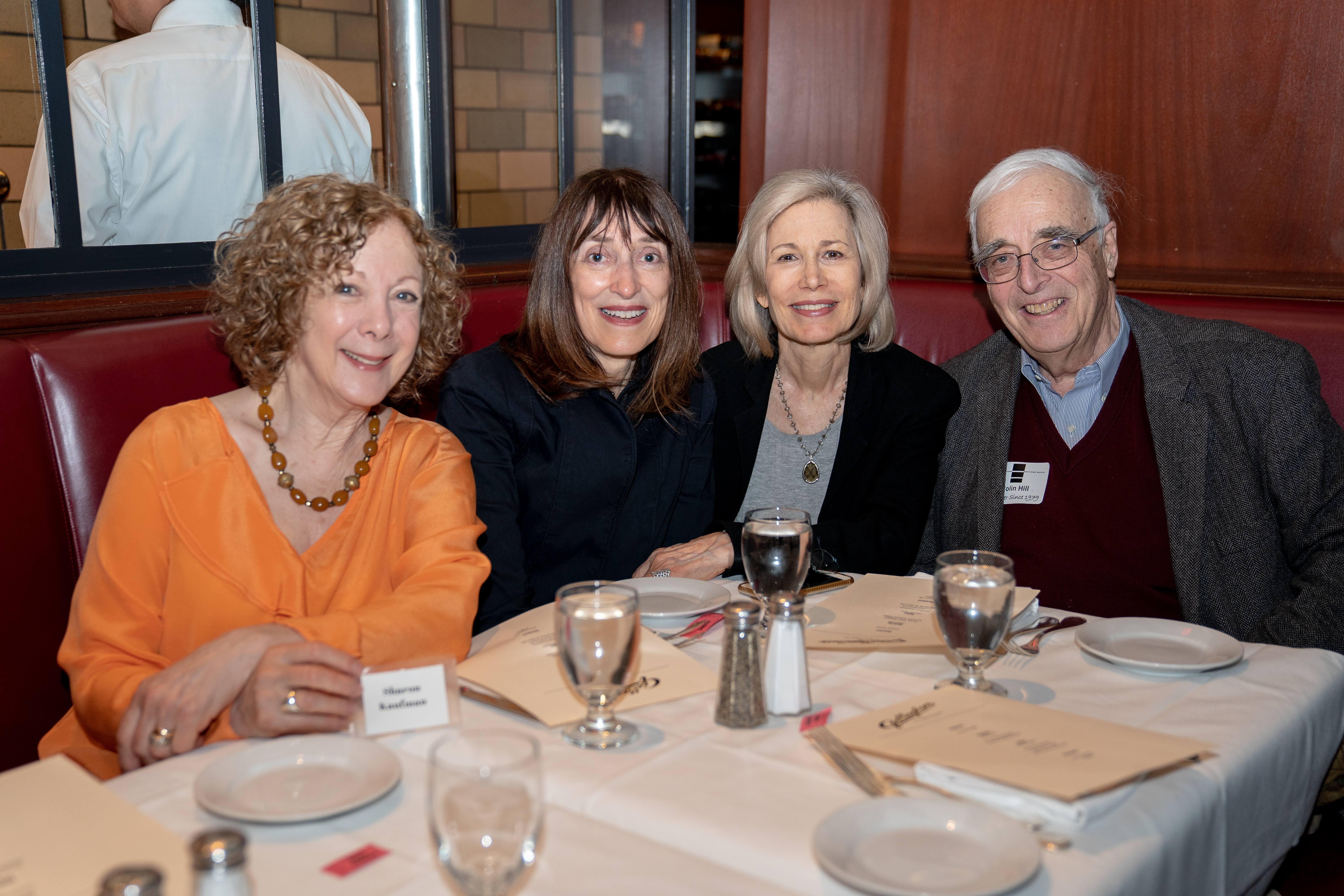 Sharon Kaufman, Sylvia Walliga, Lisa Shreve, Colin Hill