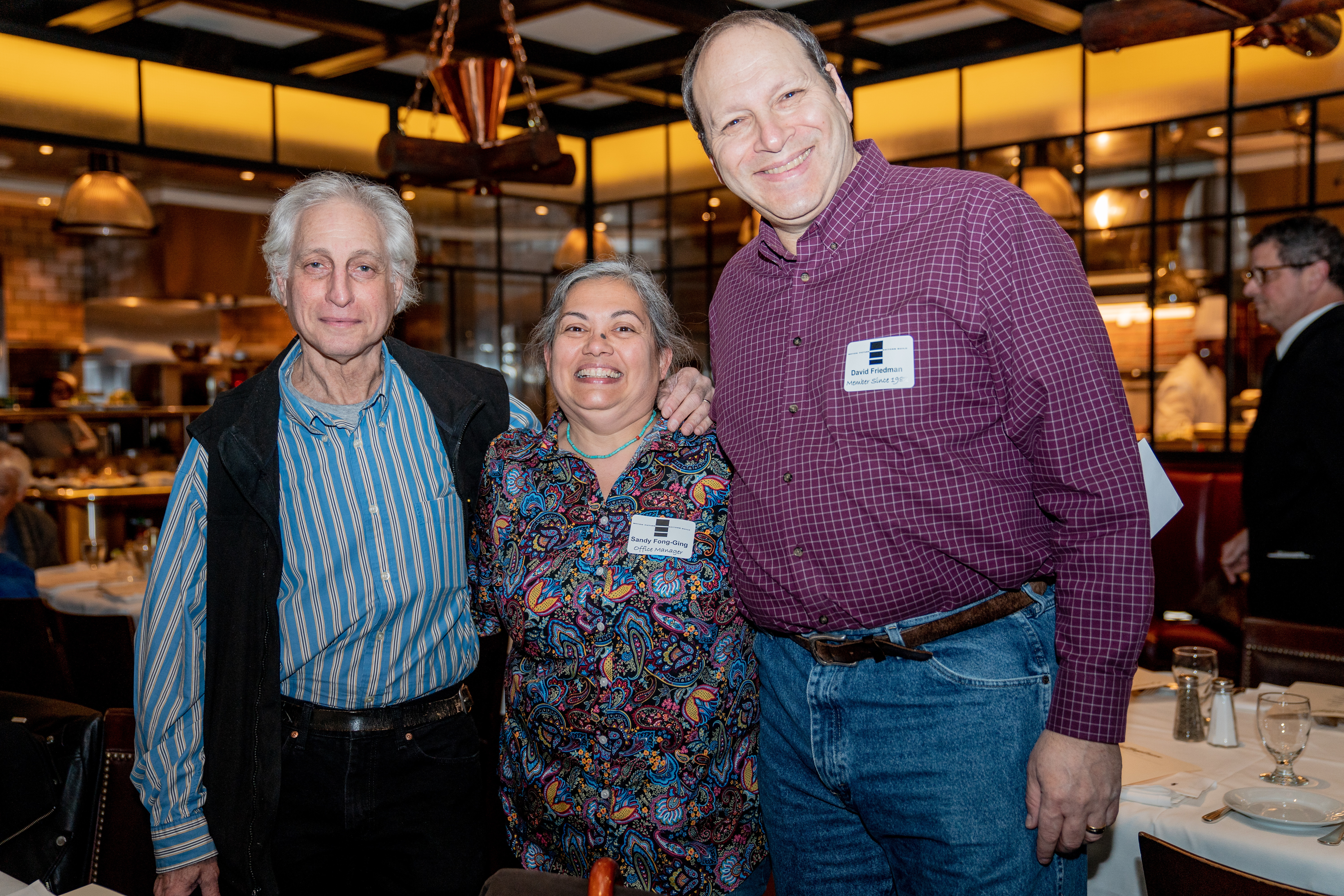 Howard Suss, Sandy Fong-Ging, David Friedman