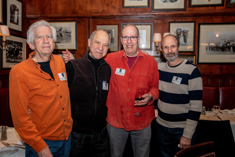 Michael Kirshberger, Lee Dichter, Josh Woletzky, David Wahnon