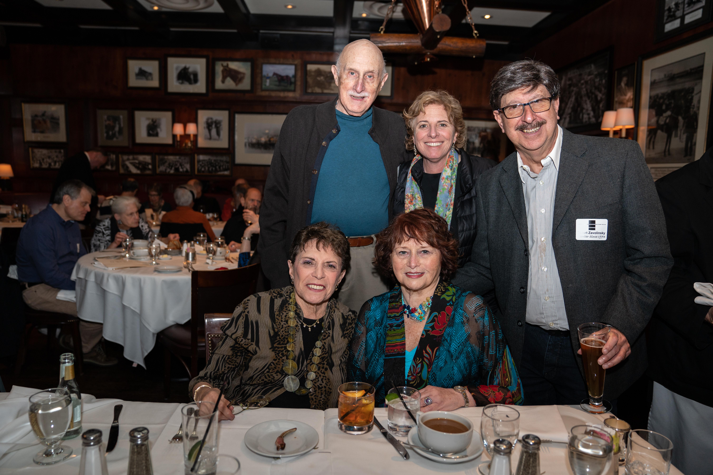 Morty Schwartz, Stefanie Schwartz, Stuart Zavolinsky  Lynda Schwartz, Dorothy Zavolinsky