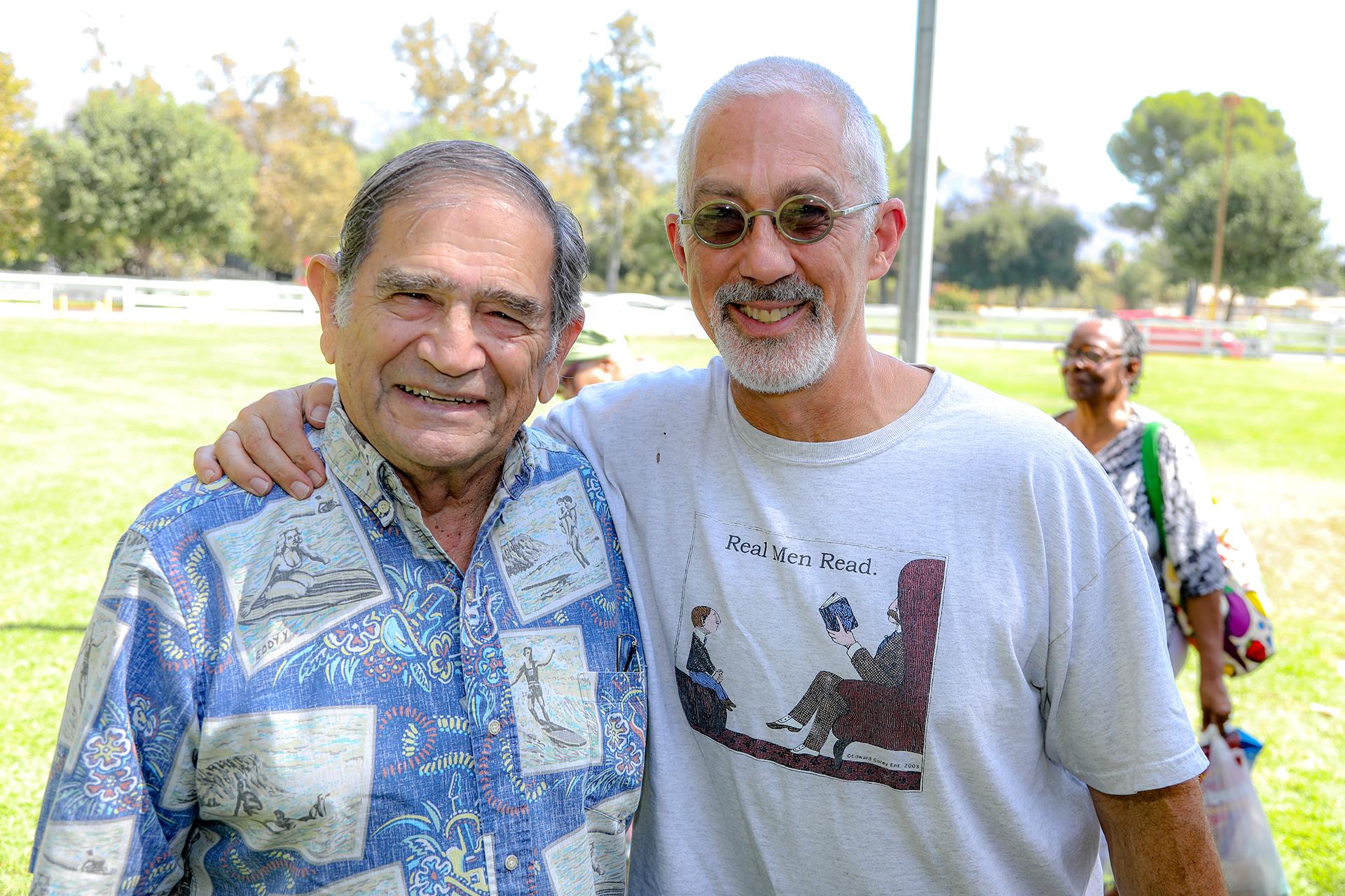 Bill Elias and Jeff Burman