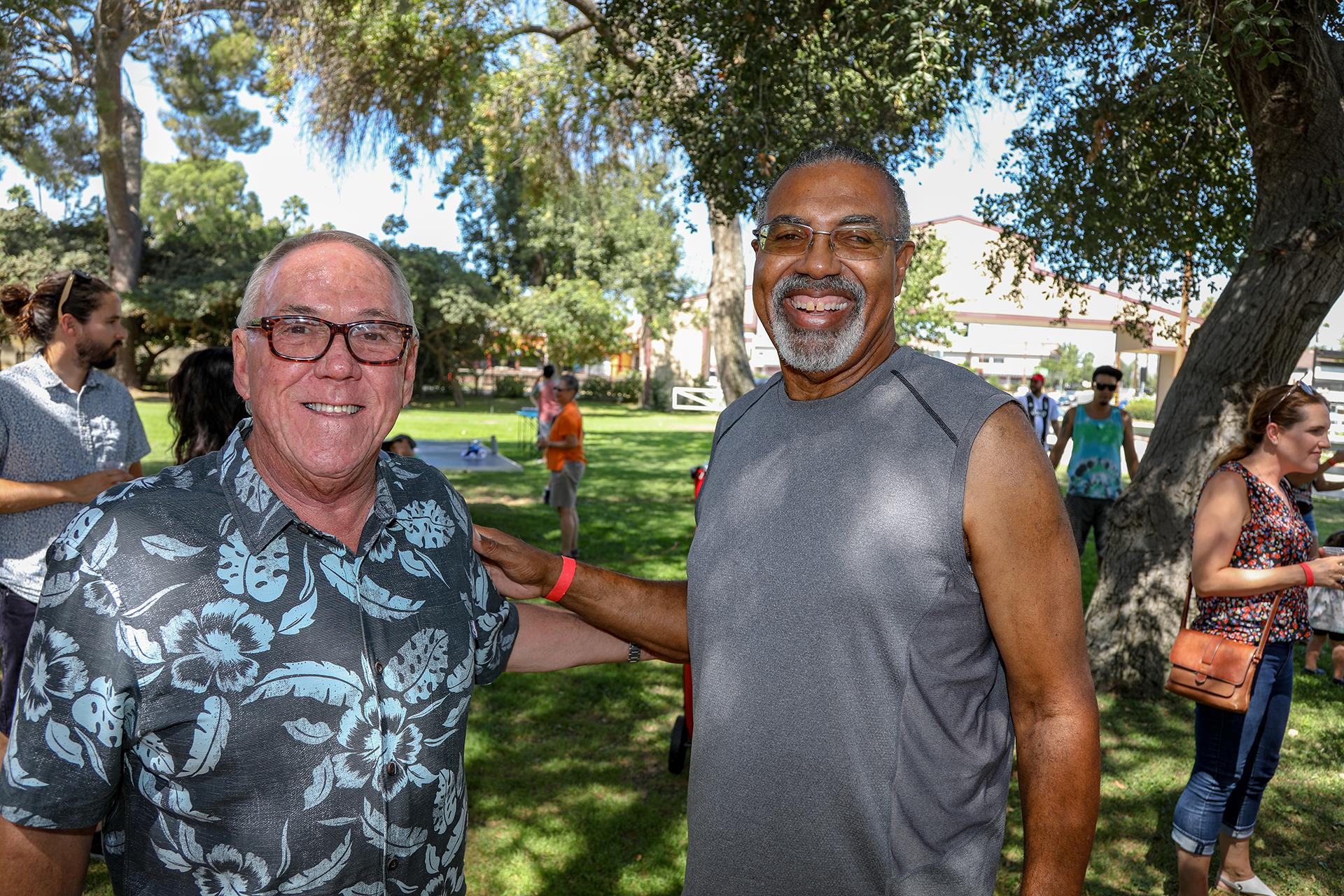 Marc Saraceno and Marvin Davis