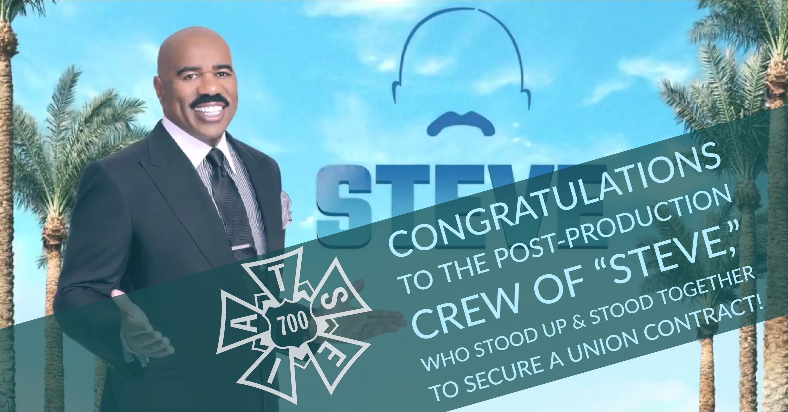 """Steve"" Post Crew Wins Union Contract!"